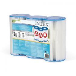 3 cartouches de filtration A - Intex