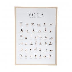 Affiche Cadre Yoga 52x72cm