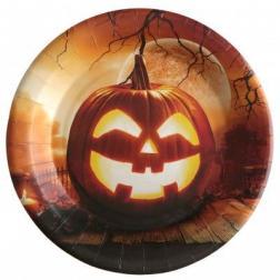 Assiette halloween x10