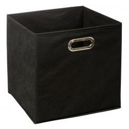 Boite de Rangement 31x31cm Noir