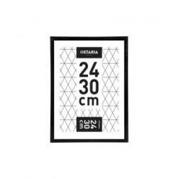 Cadre marco clip noir 24x30cm