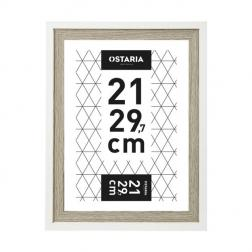 Cadre photo 'cali' bois foncé 21x29.7cm