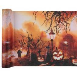 Chemin de table halloween 30 cm x 5m