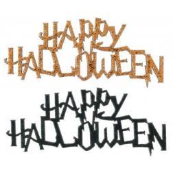 Déco à parsemer x10 happy halloween
