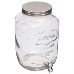 """Distributeur De Boisson """"verre"""" 8l Transparent"""