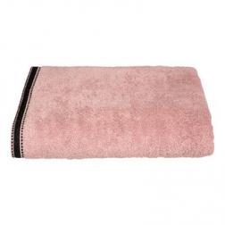 """Drap de bain """"Joia"""", coton 550 gr/m², rose 100x150 cm"""