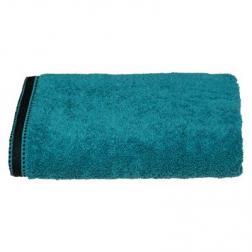 """Drap de douche """"Joia"""", coton 550 gr/m², bleu canard 70x130 cm"""