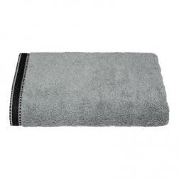 """Drap de douche """"Joia"""", coton 550 gr/m², gris foncé 70x130 cm"""