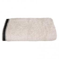 """Drap de douche """"Joia"""", coton 550 gr/m², lin 70x130 cm"""