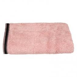 """Drap de douche """"Joia"""", coton 550 gr/m², rose 70x130 cm"""
