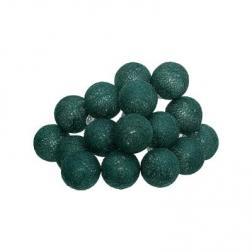 Guirlande décorative lumineuse 16 boules