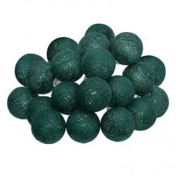 Guirlande décorative lumineuse 20 boules