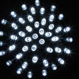 Guirlande lumineuse 24 m 240 LED Blanc froid  et 8 jeux de lumière