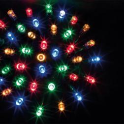Guirlande lumineuse 24 m 240 LED Multicolore et 8 jeux de lumière