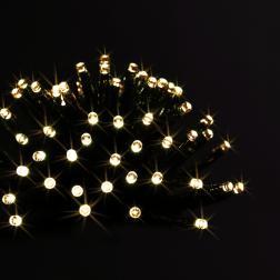Guirlande lumineuse d'extérieur programmable 48 LED Blanc chaud sur 3.50 mètres