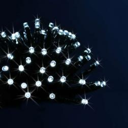 Guirlande lumineuse d'extérieur programmable 48 LED Blanc froid sur 3.50 mètres