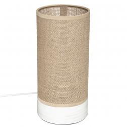 "Lampe cylindre ""Elva"" H27 cm"