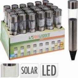 Lampe de jardin solaire LED Ø 4,5 xHT. 22 cm vendu à l unité