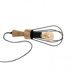 """Lampe Filaire """"aisy"""" Noir H.36cm"""