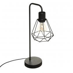 Lampe Flave Noir H46cm