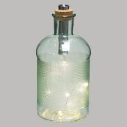 Lampe Led Bouteille en verre