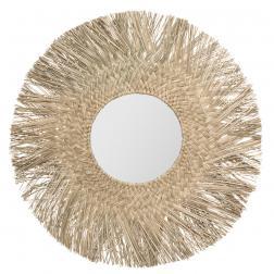 """Miroir """"Ael"""", roseau D80 cm"""