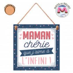 """Plaque """"Maman Chérie"""""""