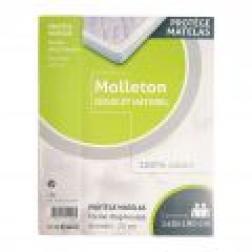 Protège matelas coton molletonné 140x190cm