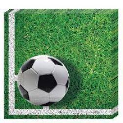 SERV X20 33CM FOOTBALL PARTY