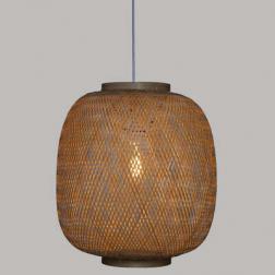 """Suspension """"Chaya"""", bambou tressé D43 cm"""