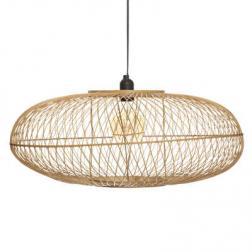"""Suspension """"Loren"""", bambou D60 cm"""