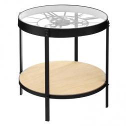 Table à café horloge D51 cm