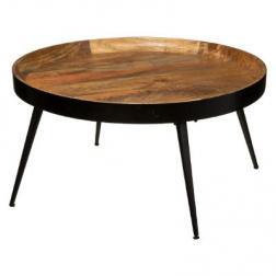 "Table basse ""Siwan"" D70 cm"