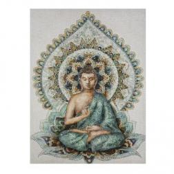 """Toile imprimé """"Bouddha"""" 58x78 cm"""