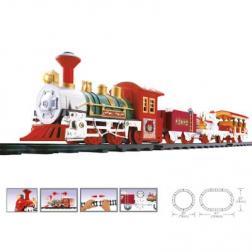 Train de Noël électrique - 16 pièces