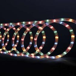Tube lumineux guirlande à LED 6m Multicolore 8 fonctions