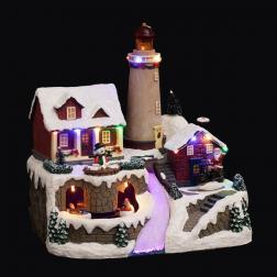Village de Noël Phare , Maison